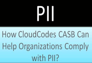 CloudCodes CASB help organizations for pii compliance