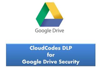 CloudCodes DLP for google drive security