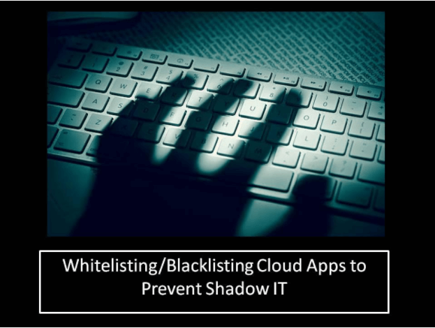 Blacklisting And Whitelisting Cloud Apps