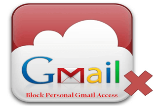 what is block personal gmail