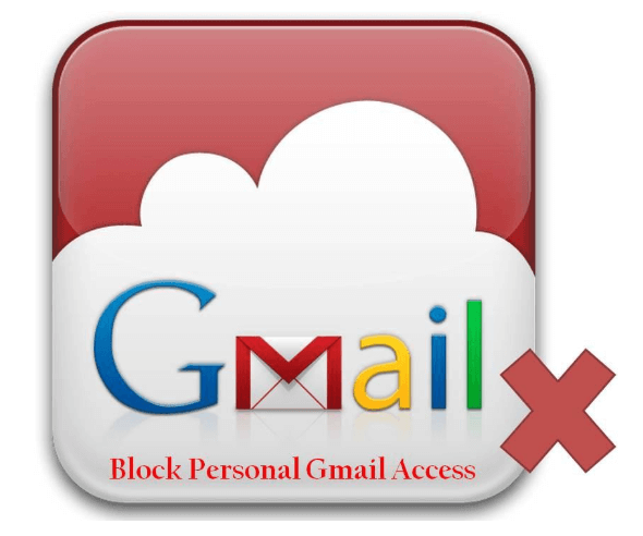 what is personal gmail block