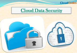 Cloud Computing Security Methods