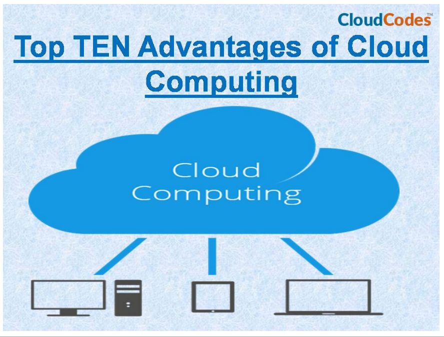 Top TEN Advantages of Cloud Computing