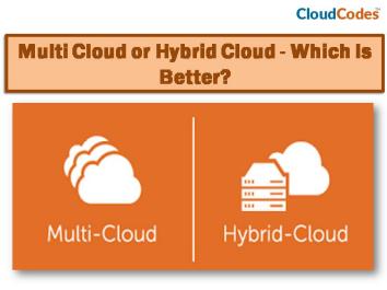 Multi-Cloud or Hybrid Cloud