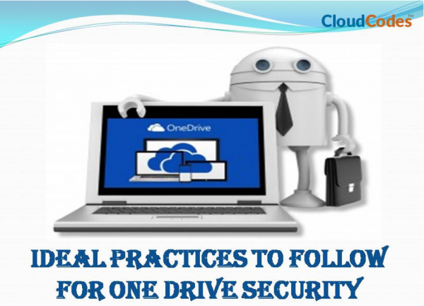 OneDrive Security Best Practices