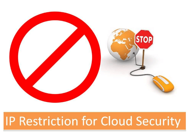 cloud security with IP restriction