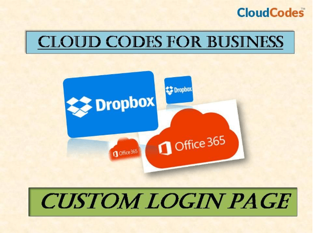 custom login page