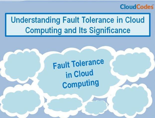 Fault Tolerance in Cloud Computing