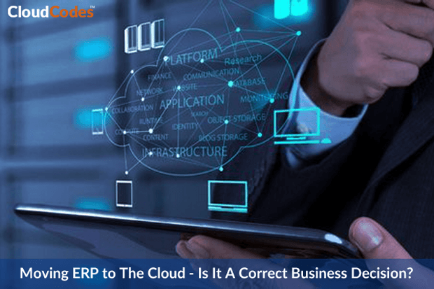 Moving ERP To The Cloud Environment
