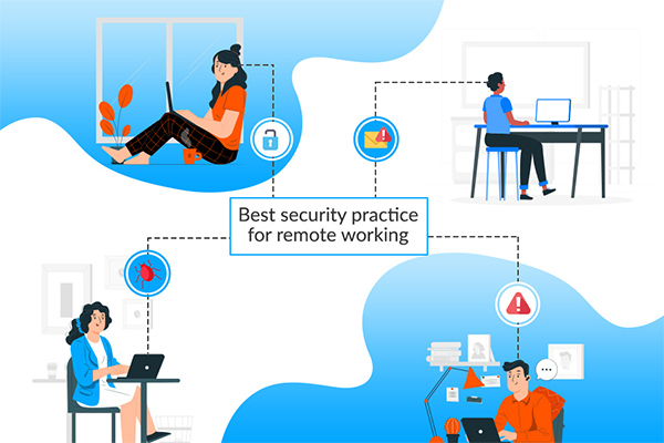Best security practices for remote working
