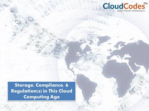 storage compliance and regulations