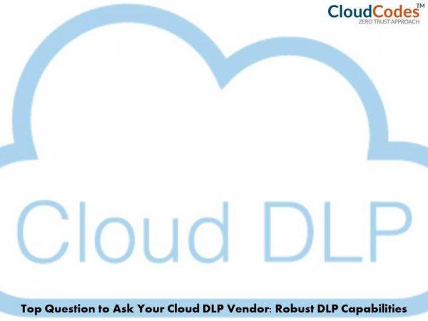 Cloud DLP Vendor
