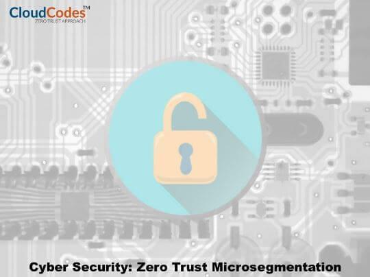 Zero Trust Microsegmentation